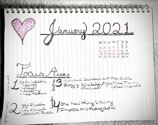 Goals January 2021